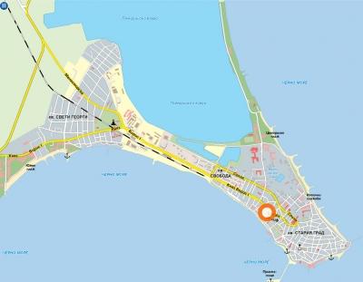Поморие маршрути и карти